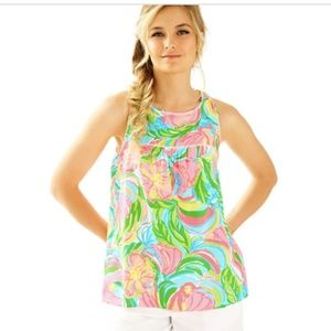 Lilly Pulitzer Flutter Top - Printed